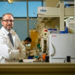 U of A chemistry professor Dennis Hall
